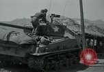 Image of Sherman tank Korea, 1951, second 13 stock footage video 65675032642
