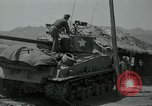 Image of Sherman tank Korea, 1951, second 14 stock footage video 65675032642