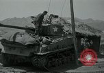 Image of Sherman tank Korea, 1951, second 15 stock footage video 65675032642