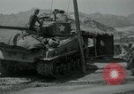 Image of Sherman tank Korea, 1951, second 16 stock footage video 65675032642