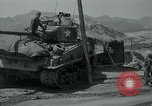 Image of Sherman tank Korea, 1951, second 17 stock footage video 65675032642