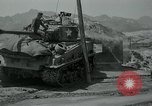 Image of Sherman tank Korea, 1951, second 18 stock footage video 65675032642