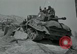 Image of Sherman tank Korea, 1951, second 28 stock footage video 65675032642