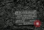Image of 155 mm Howitzer Seoul Korea, 1951, second 1 stock footage video 65675032645