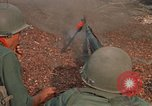 Image of RF-PF forces with M-60 machine gun and M-79 Grenade Launcher Vietnam, 1970, second 29 stock footage video 65675032682