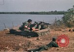 Image of Vietnamese Forces engaged in live fire mock combat Vietnam, 1970, second 22 stock footage video 65675032684