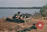 Image of Vietnamese Forces engaged in live fire mock combat Vietnam, 1970, second 23 stock footage video 65675032684
