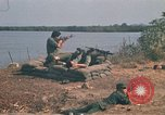 Image of Vietnamese Forces engaged in live fire mock combat Vietnam, 1970, second 26 stock footage video 65675032684