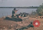 Image of Vietnamese Forces engaged in live fire mock combat Vietnam, 1970, second 27 stock footage video 65675032684