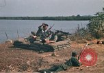 Image of Vietnamese Forces engaged in live fire mock combat Vietnam, 1970, second 29 stock footage video 65675032684