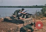Image of Vietnamese Forces engaged in live fire mock combat Vietnam, 1970, second 30 stock footage video 65675032684
