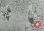 Image of Vietnamese families carrying food and supplies into Viet Cong camp in  Vietnam, 1965, second 50 stock footage video 65675032697