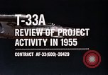 Image of T-33A Shooting Star United States USA, 1955, second 2 stock footage video 65675032725