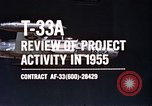 Image of T-33A Shooting Star United States USA, 1955, second 4 stock footage video 65675032725