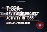 Image of T-33A Shooting Star United States USA, 1955, second 5 stock footage video 65675032725