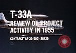 Image of T-33A Shooting Star United States USA, 1955, second 9 stock footage video 65675032725
