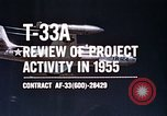 Image of T-33A Shooting Star United States USA, 1955, second 11 stock footage video 65675032725