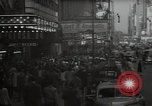 Image of Time Square New York City USA, 1948, second 8 stock footage video 65675032737