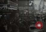 Image of Time Square New York City USA, 1948, second 10 stock footage video 65675032737