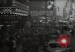 Image of Time Square New York City USA, 1948, second 12 stock footage video 65675032737