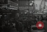 Image of Time Square New York City USA, 1948, second 16 stock footage video 65675032737