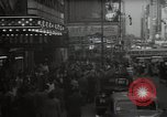 Image of Time Square New York City USA, 1948, second 17 stock footage video 65675032737