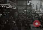 Image of Time Square New York City USA, 1948, second 18 stock footage video 65675032737