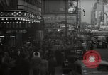 Image of Time Square New York City USA, 1948, second 19 stock footage video 65675032737