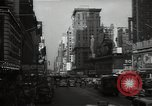 Image of Time Square New York City USA, 1948, second 26 stock footage video 65675032737