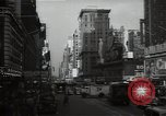 Image of Time Square New York City USA, 1948, second 27 stock footage video 65675032737