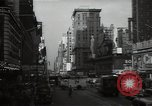 Image of Time Square New York City USA, 1948, second 28 stock footage video 65675032737