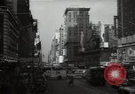 Image of Time Square New York City USA, 1948, second 29 stock footage video 65675032737