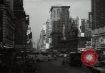 Image of Time Square New York City USA, 1948, second 30 stock footage video 65675032737