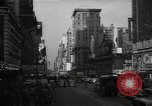 Image of Time Square New York City USA, 1948, second 31 stock footage video 65675032737