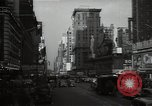 Image of Time Square New York City USA, 1948, second 32 stock footage video 65675032737