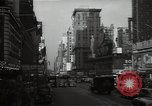 Image of Time Square New York City USA, 1948, second 33 stock footage video 65675032737