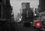Image of Time Square New York City USA, 1948, second 35 stock footage video 65675032737