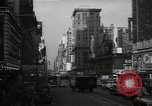 Image of Time Square New York City USA, 1948, second 36 stock footage video 65675032737