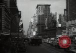 Image of Time Square New York City USA, 1948, second 38 stock footage video 65675032737