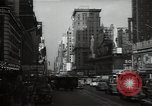 Image of Time Square New York City USA, 1948, second 39 stock footage video 65675032737