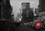 Image of Time Square New York City USA, 1948, second 42 stock footage video 65675032737
