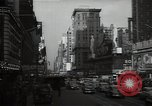 Image of Time Square New York City USA, 1948, second 43 stock footage video 65675032737