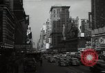 Image of Time Square New York City USA, 1948, second 44 stock footage video 65675032737