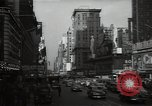 Image of Time Square New York City USA, 1948, second 45 stock footage video 65675032737