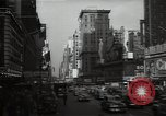 Image of Time Square New York City USA, 1948, second 46 stock footage video 65675032737
