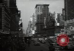 Image of Time Square New York City USA, 1948, second 47 stock footage video 65675032737