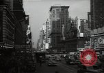 Image of Time Square New York City USA, 1948, second 48 stock footage video 65675032737