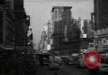 Image of Time Square New York City USA, 1948, second 49 stock footage video 65675032737