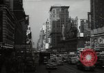 Image of Time Square New York City USA, 1948, second 50 stock footage video 65675032737