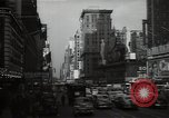 Image of Time Square New York City USA, 1948, second 51 stock footage video 65675032737